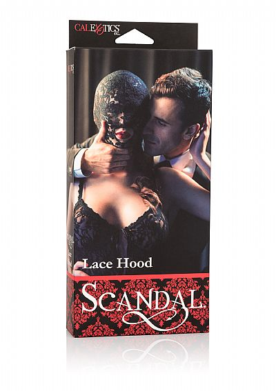 Scandal Lace Hood full face Δαντελωτή κουκούλα